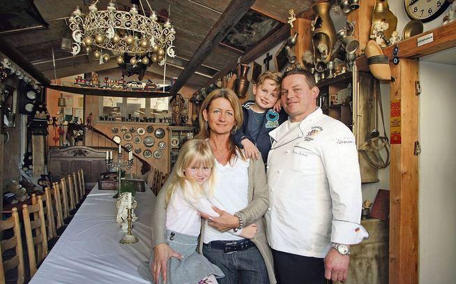 Butterlins Restaurant in Ostfilder Nellingen - Jean Remy und seine Familie