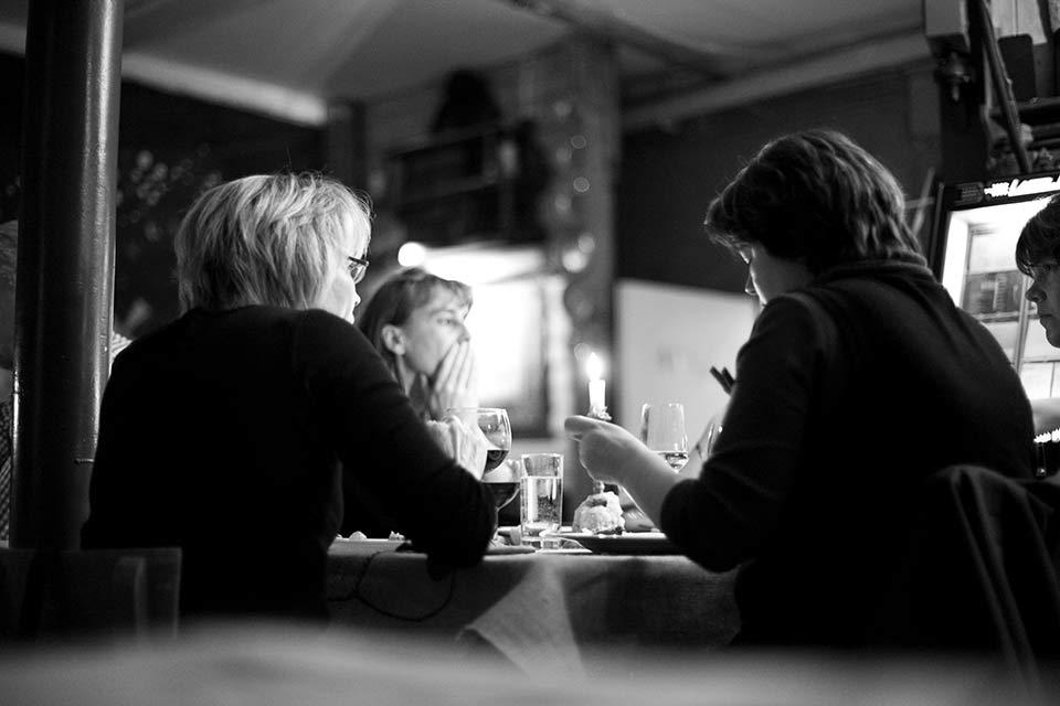 Butterlins Restaurant - Innenaufnahme